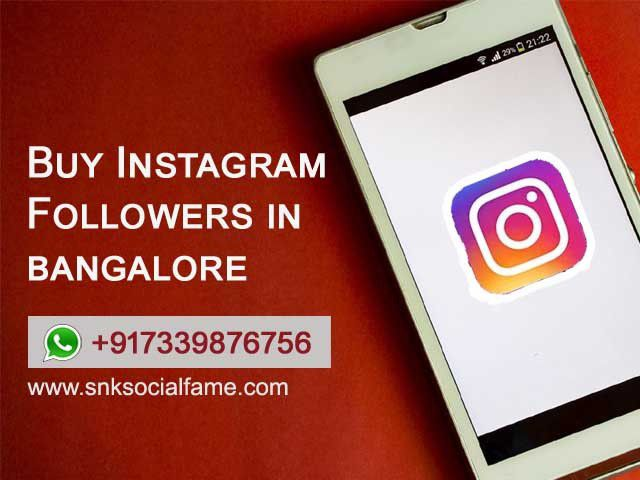 buy instagram likes in bangalore - Social Charge - Social