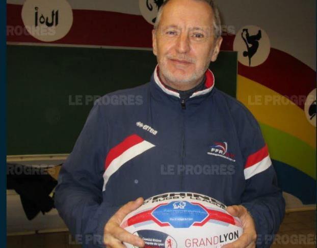 Dale Harrison, président des Tigres Charpennes Tonkin. Photo Le Progrès/Jean-Christophe JANIN