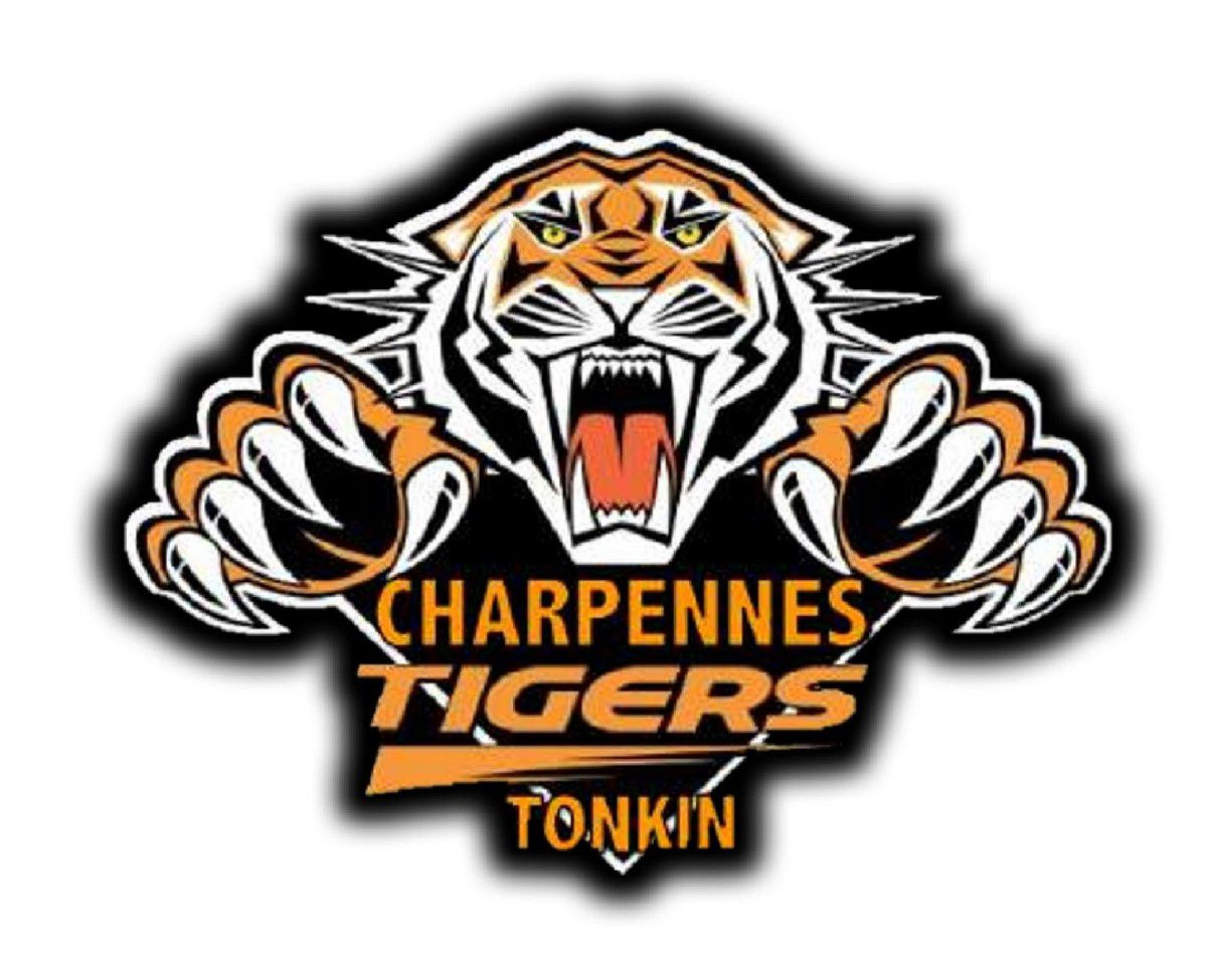 Logo de Charpennes Tonkin Tigers Rugby League