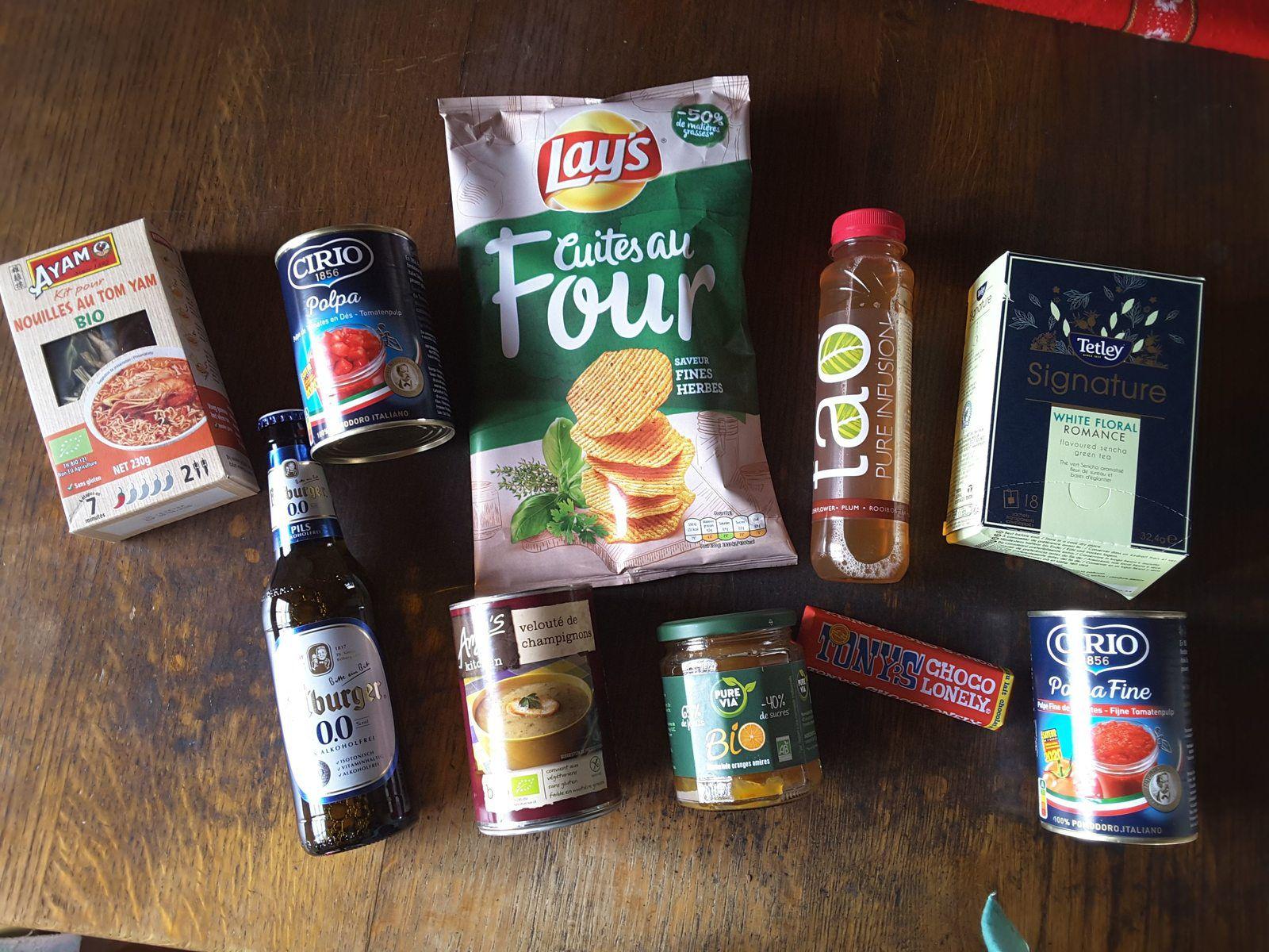 degustabox février 2020 missbonsplansdunet box nourriture