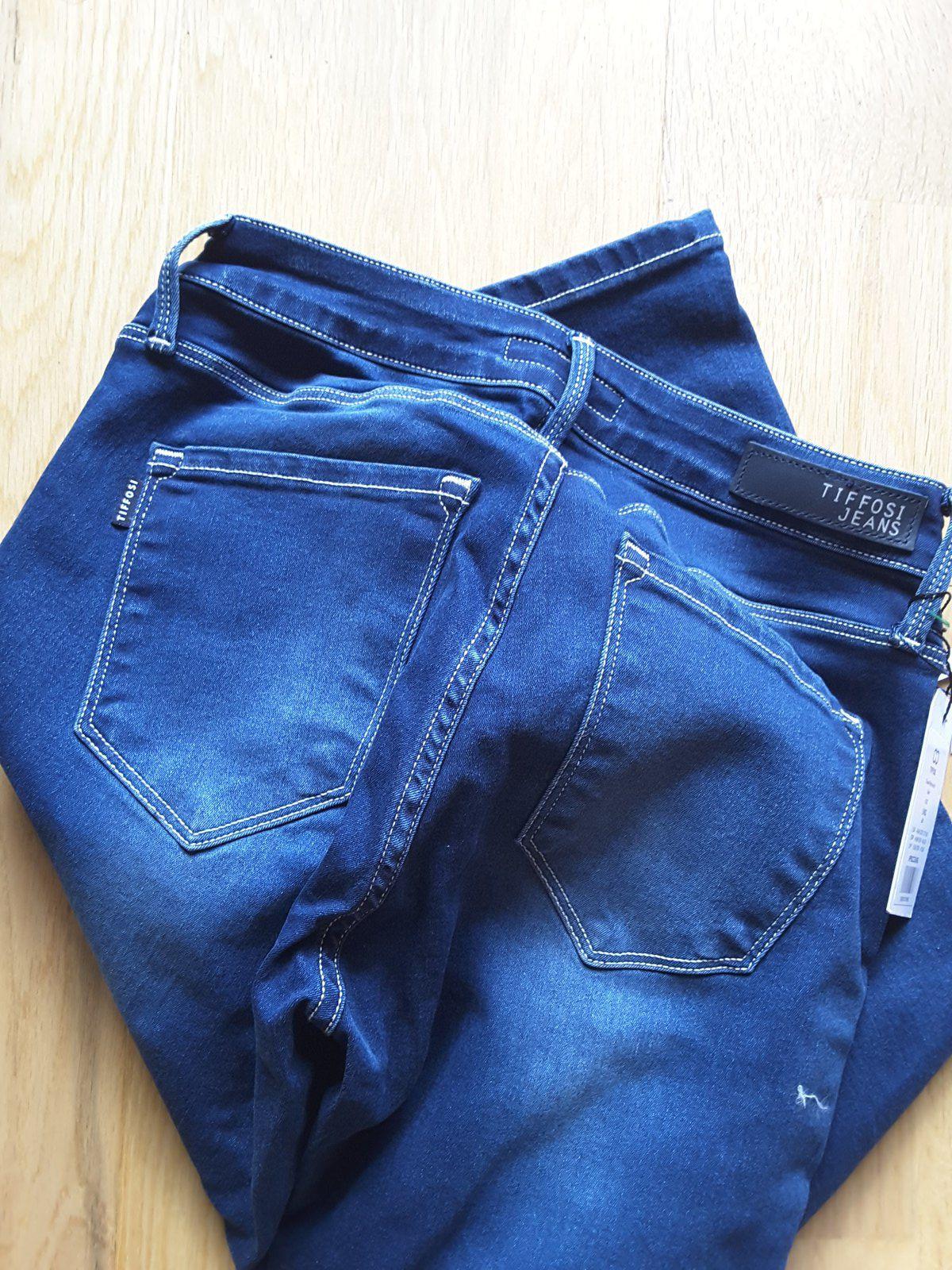 lookiero Tista Pant one3 Blue - Tiffosi missbonsplansdunet box vêtements styliste personal shopper