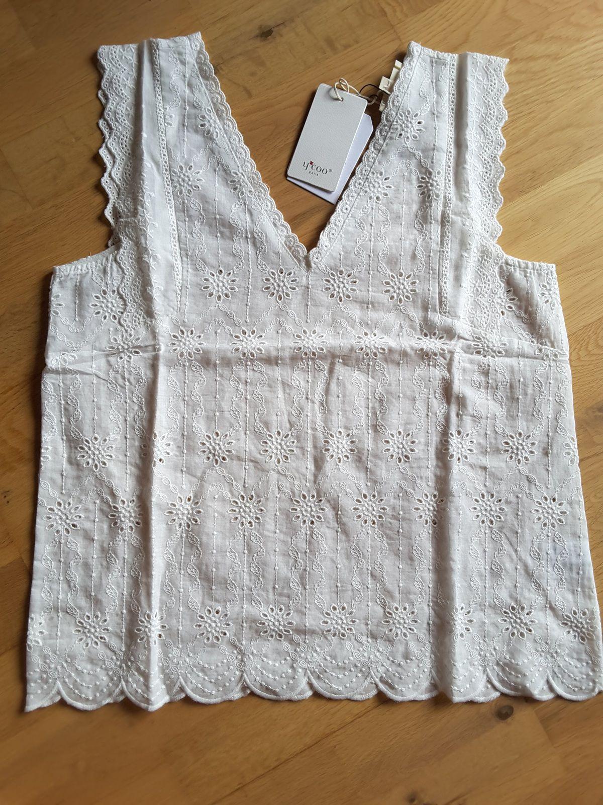 Creta Top summer ecru - Ycoo lookiero missbonsplansdunet box vêtements styliste personal shopper