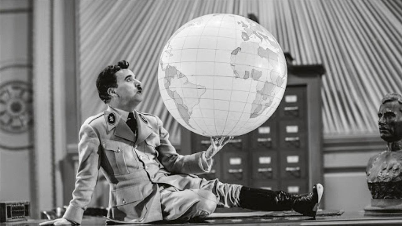 Avec Le Dictateur, Charlie Chaplin jette le masque de Charlot