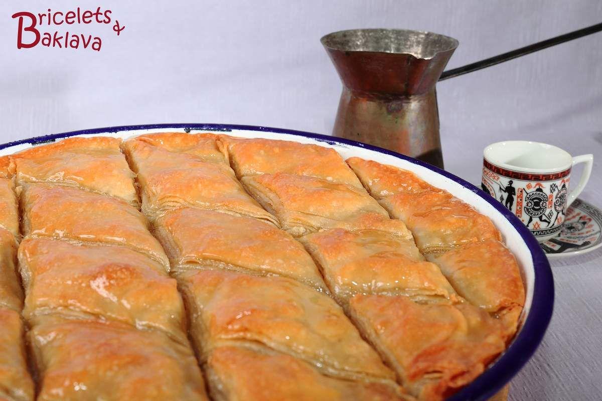 Le meilleur des baklava, avec pâte filo maison