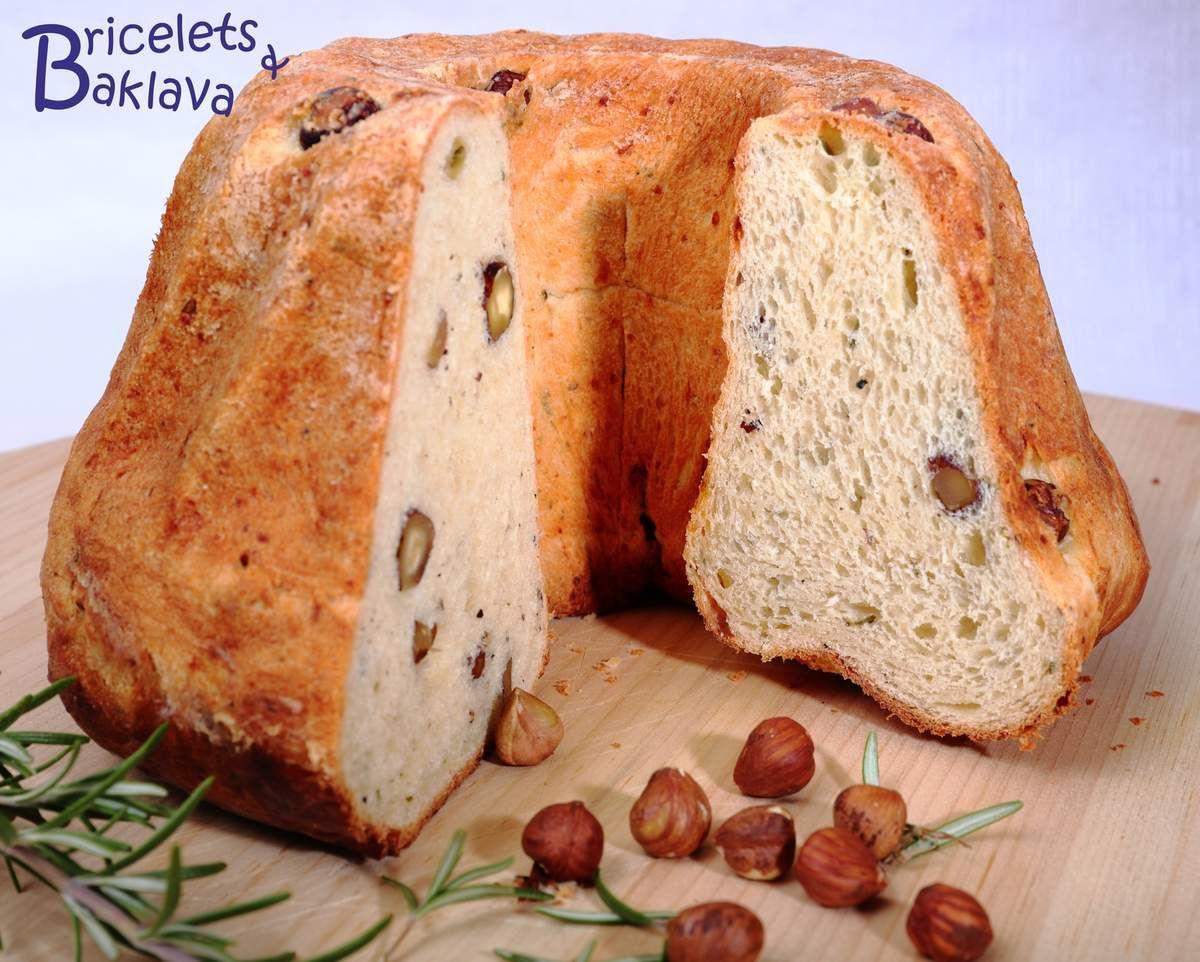 Kouglof aux noisettes et Parmesan