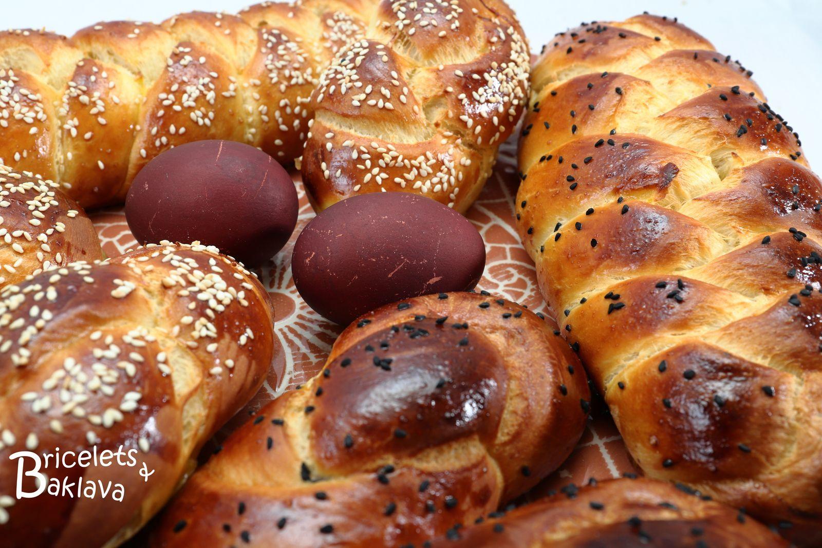 Le tcheureg ou tcheurek, la brioche de Pâques