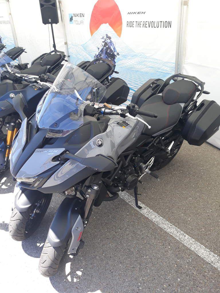 petite après-midi visite du niken tour à nîmes à dubois moto concessionnaire exclusif yamaha