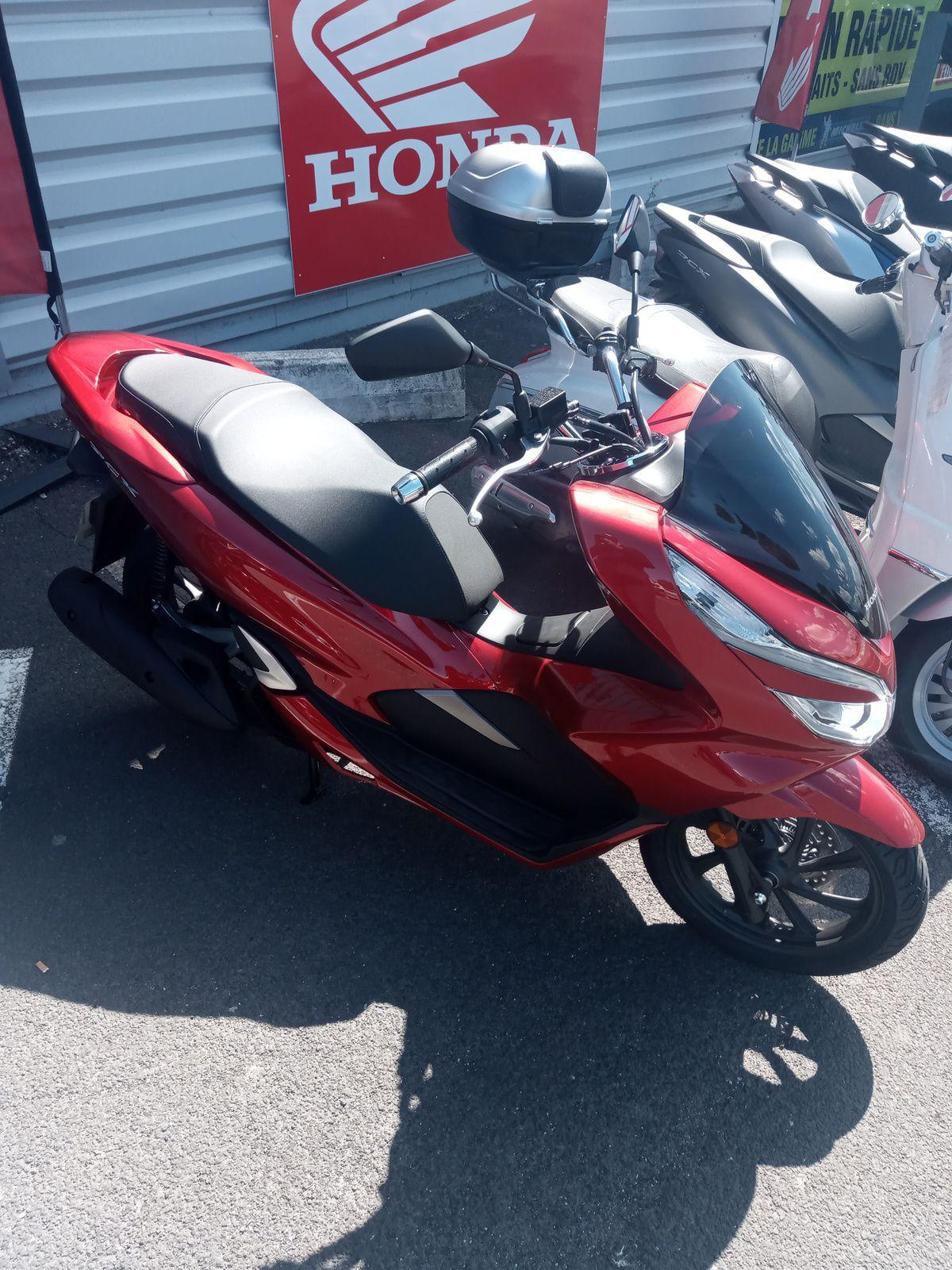 scooter honda pcx 125 pour rodage (scooter urbain)