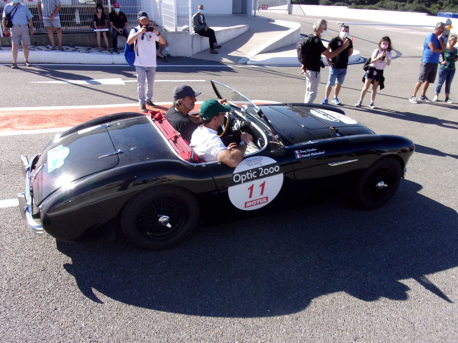 tour auto optic 2000 édition 2020 circuit Lédenon alias L2N