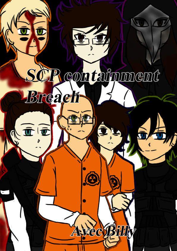 SCP Containment breach-Dessin commande [Re-Publication]