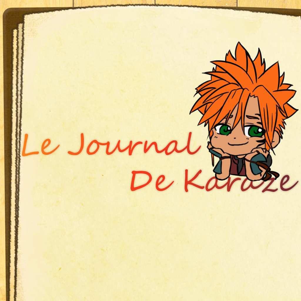Journal de Karaze #4 [Re-Publication]