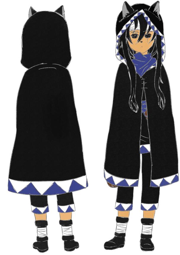La nouvelle version de Shoku avec sa tenue complète