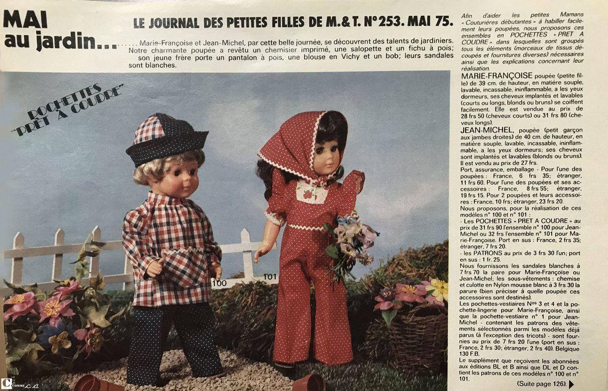 Mai au jardin • Mai 1975