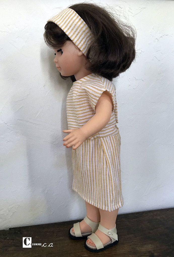 Robe à emmanchures kimono courtes • août 2019