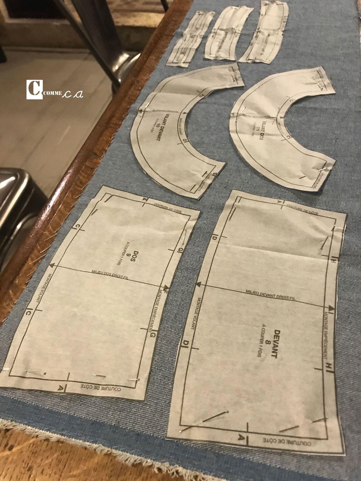 Robe(s) en jean • avril 2020