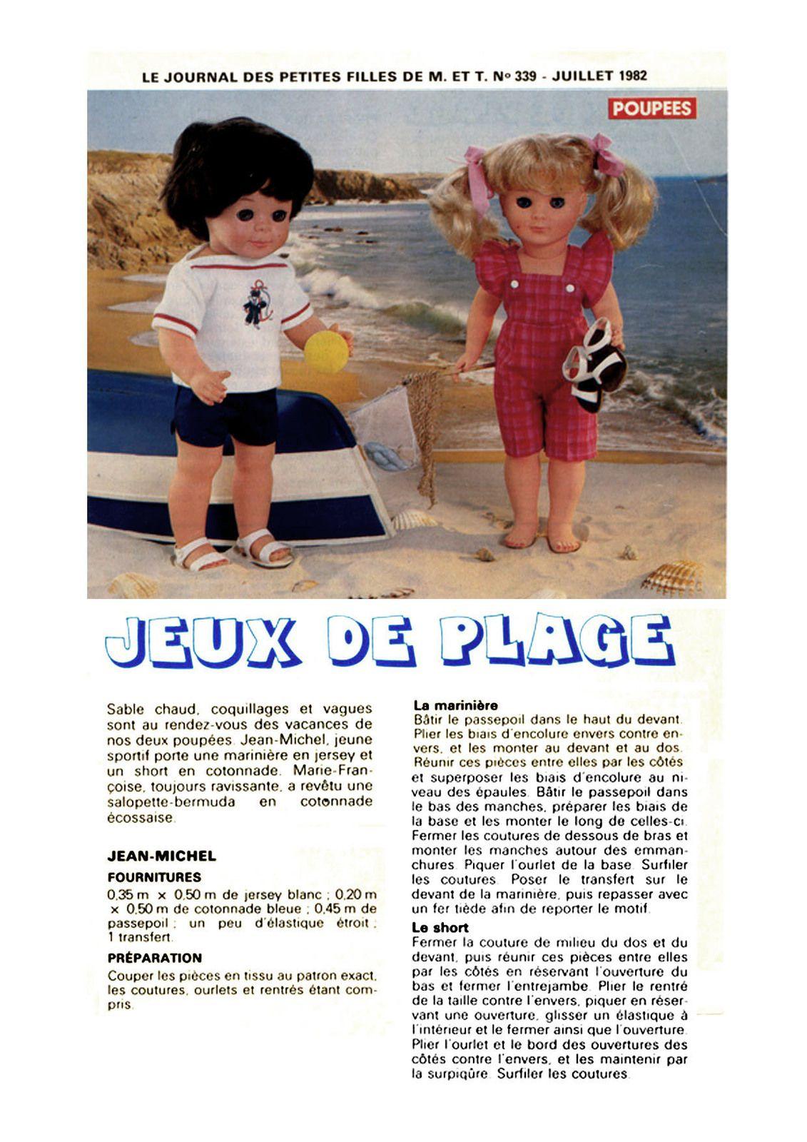 Modes & Travaux • Juillet 1982