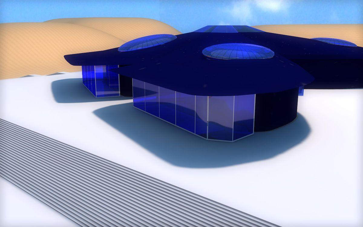 Abdelaziz GHAZANI - Le Papillon Source EL4DEV - Concept art