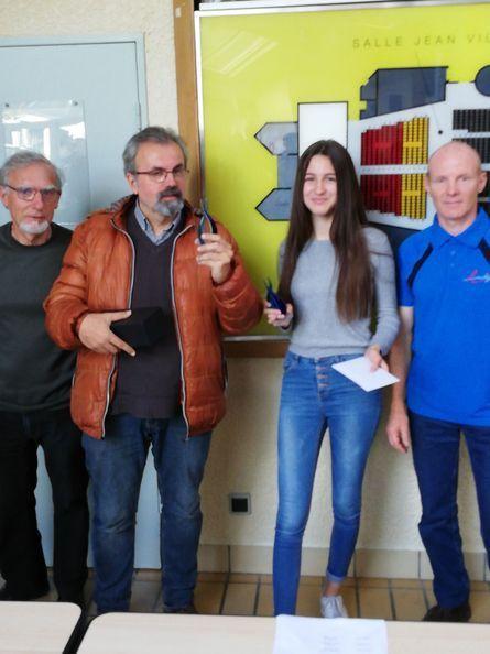 Rodolphe a Amilly Champion de Ligue a 57 ans ! Vive les vieux !