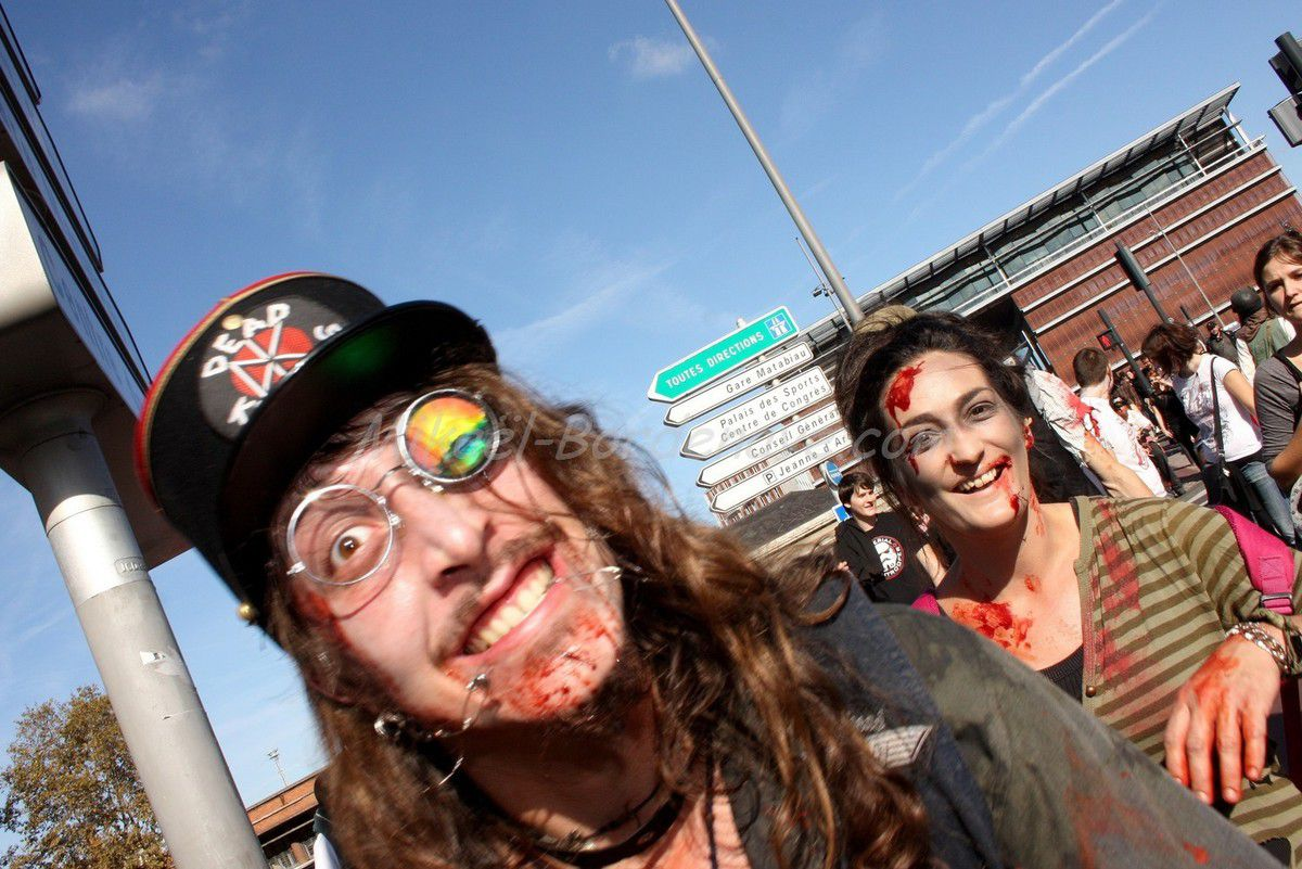 Zombiewalk Toulouse 2013