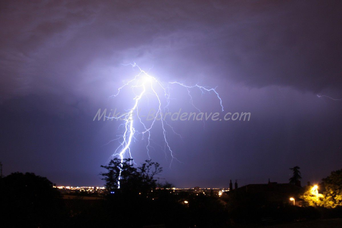 - Orages Toulouse