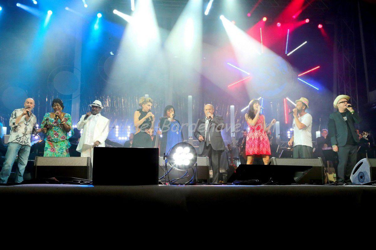 - Concert Maurane, Nowlen, Michel Jonaz, Christophe Maé, San Sévérino etc... 14-Juillet 2014 à Toulouse
