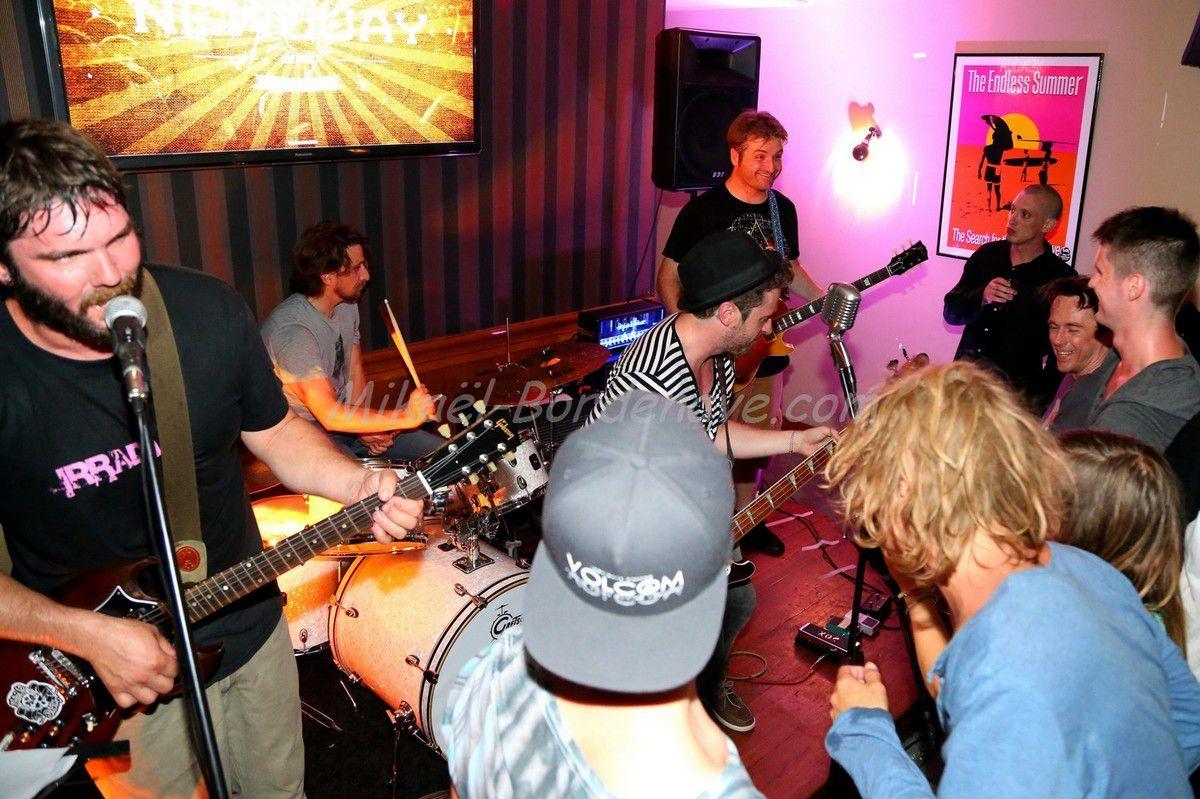 Fêtes de la musique, Les Chats-Teignes au Newquay