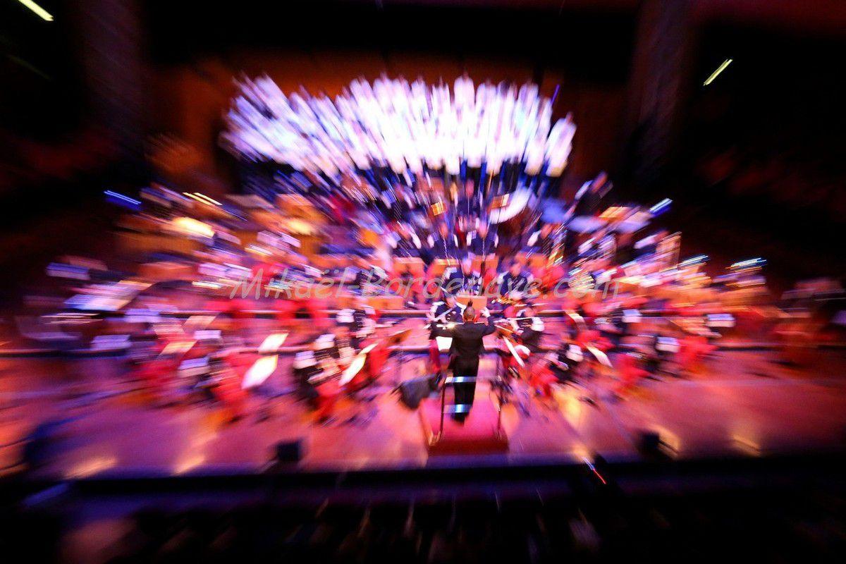 - Concert du Trinôme Académique: Stéphane Fougeroux chef de la Musique de la 11e Brigade des Parachutistes
