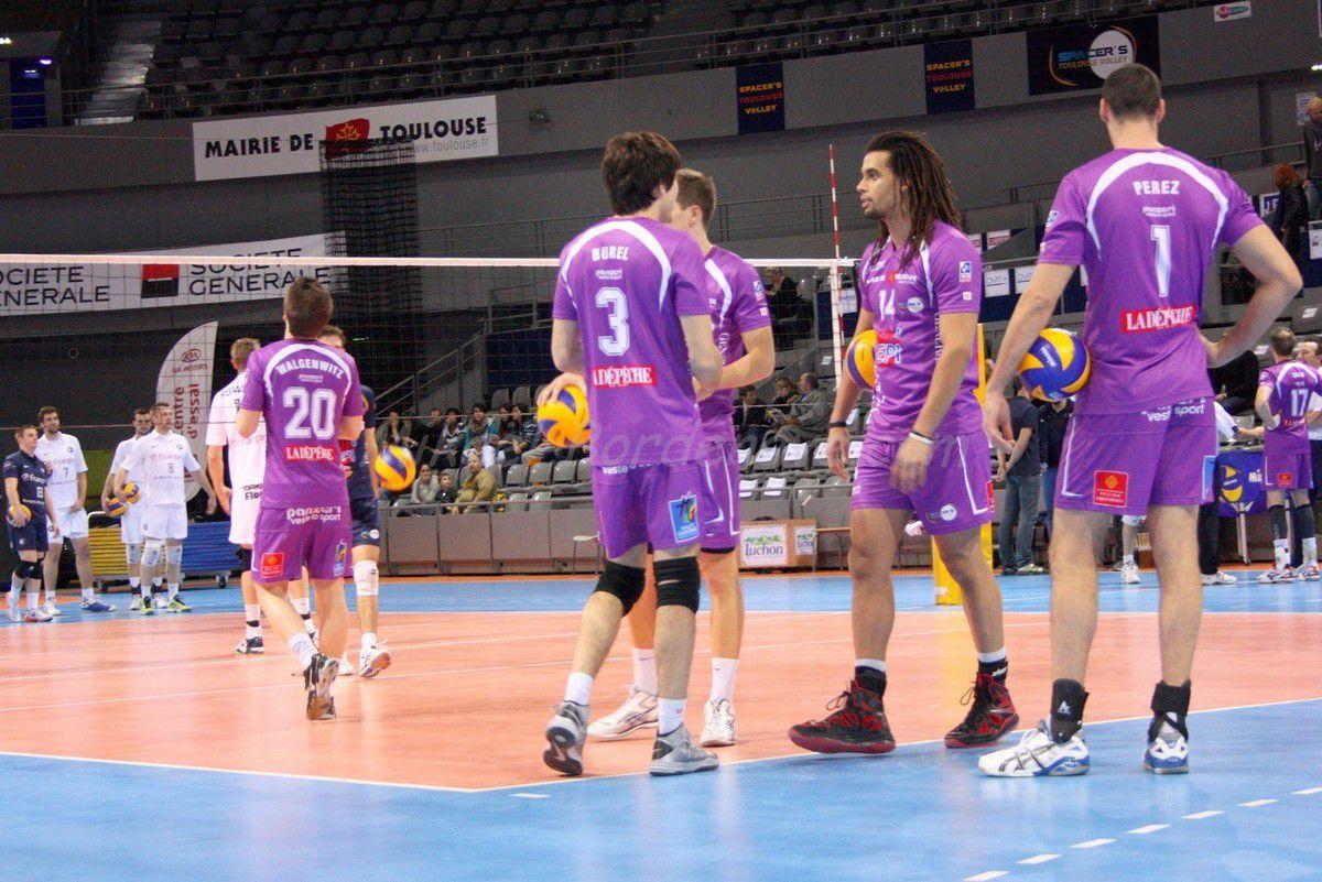 - Spacer's Vs Paris volley 2013