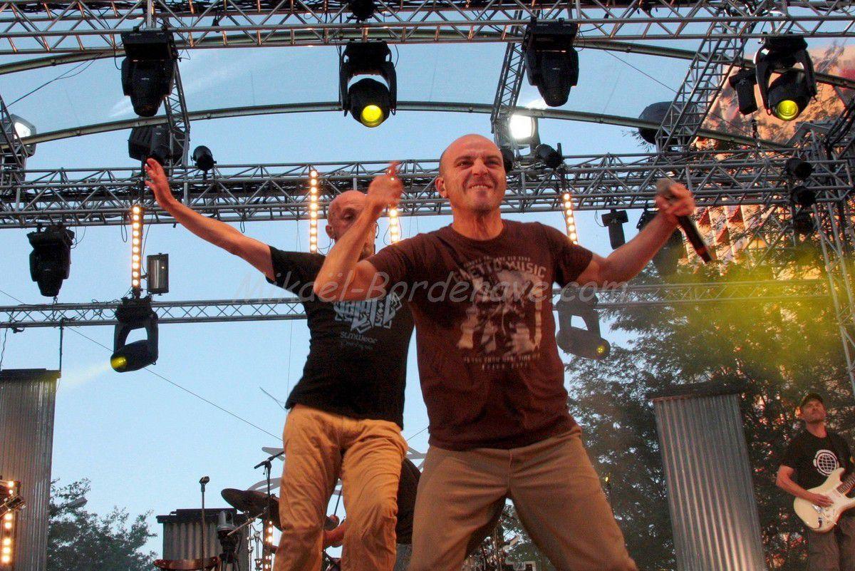 - Concert Zebda Toulouse 14 juillet 2012