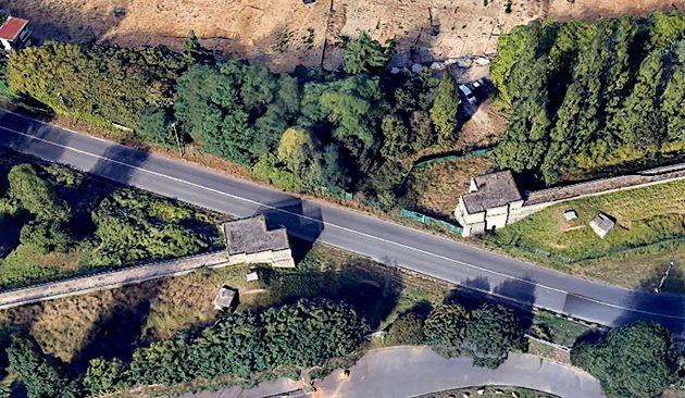 Siphon de l'aqueduc de Vanne © Google Earth 2018