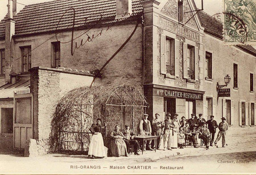 L'ancien relais de poste L'Écu de France repris par la maison Chartier