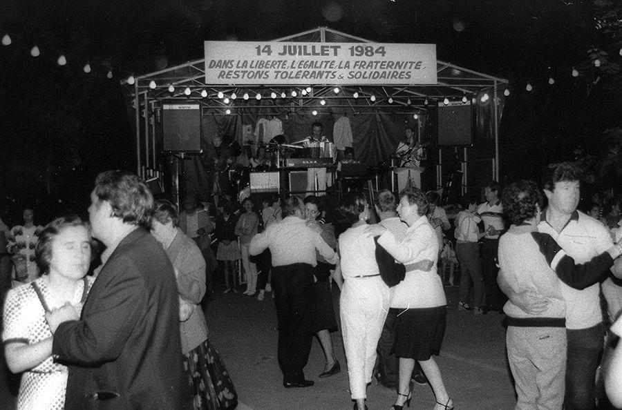 14 juillet 1984 à Ris-Orangis