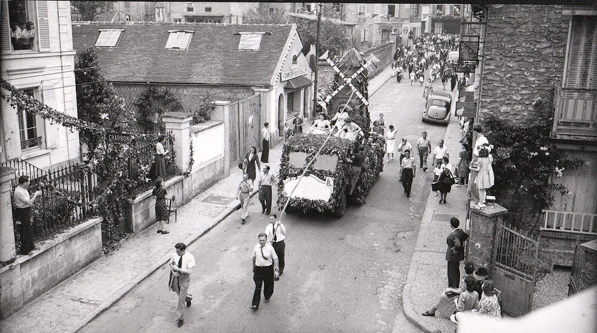 Fête des Fleurs du 13 juin 1948