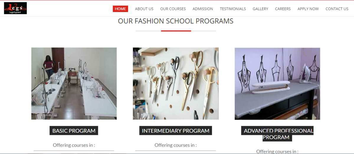 Fashion Design School In Lagos Jackharrywilsonover Blog Com