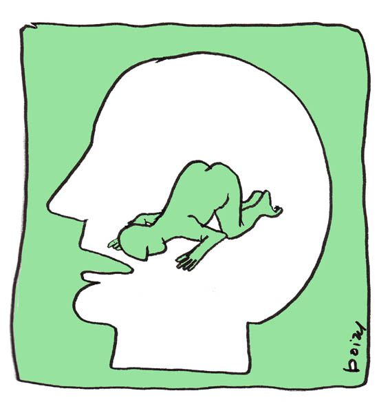 Tristes chroniques, dessins pour le journal Alters Echos