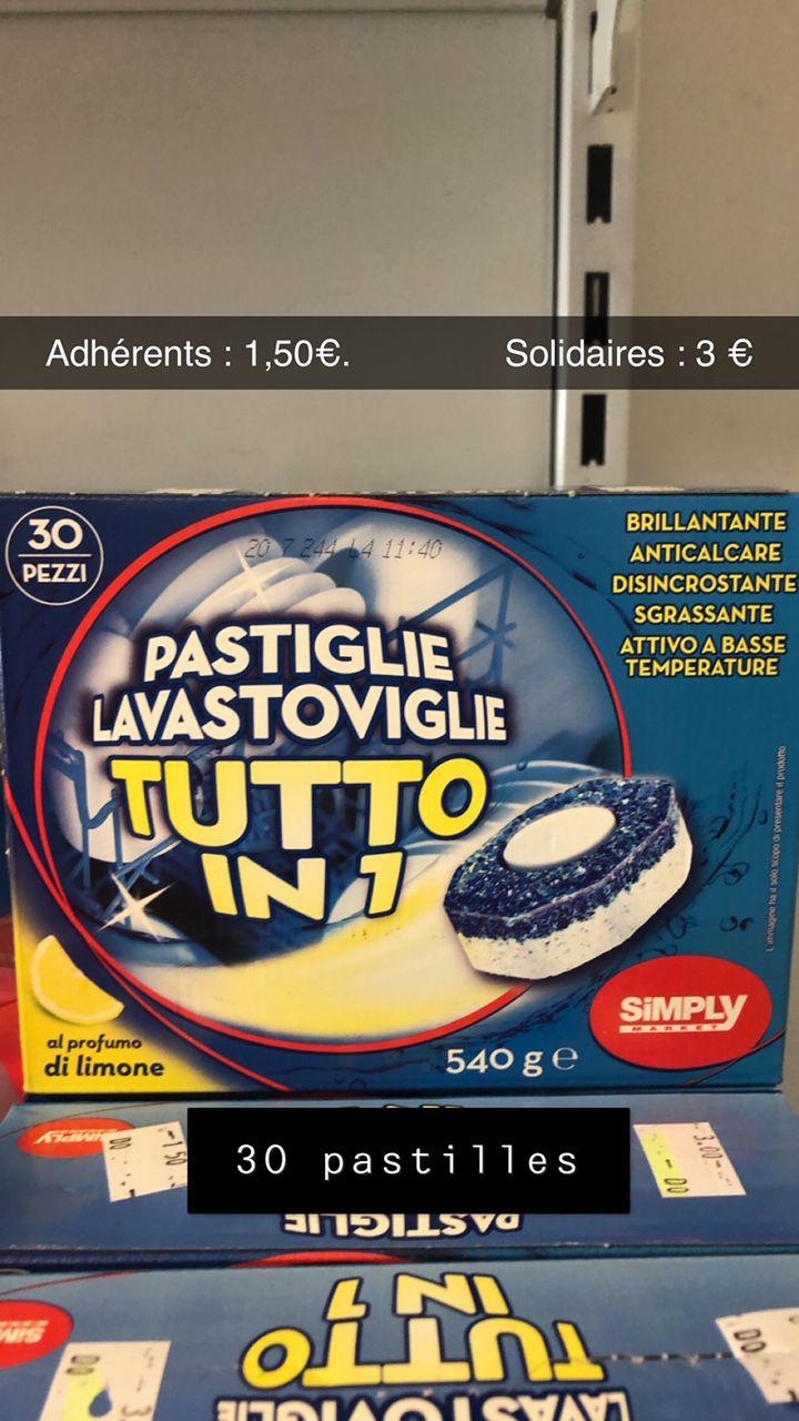 30 Tablettes pour lave-vaisselle