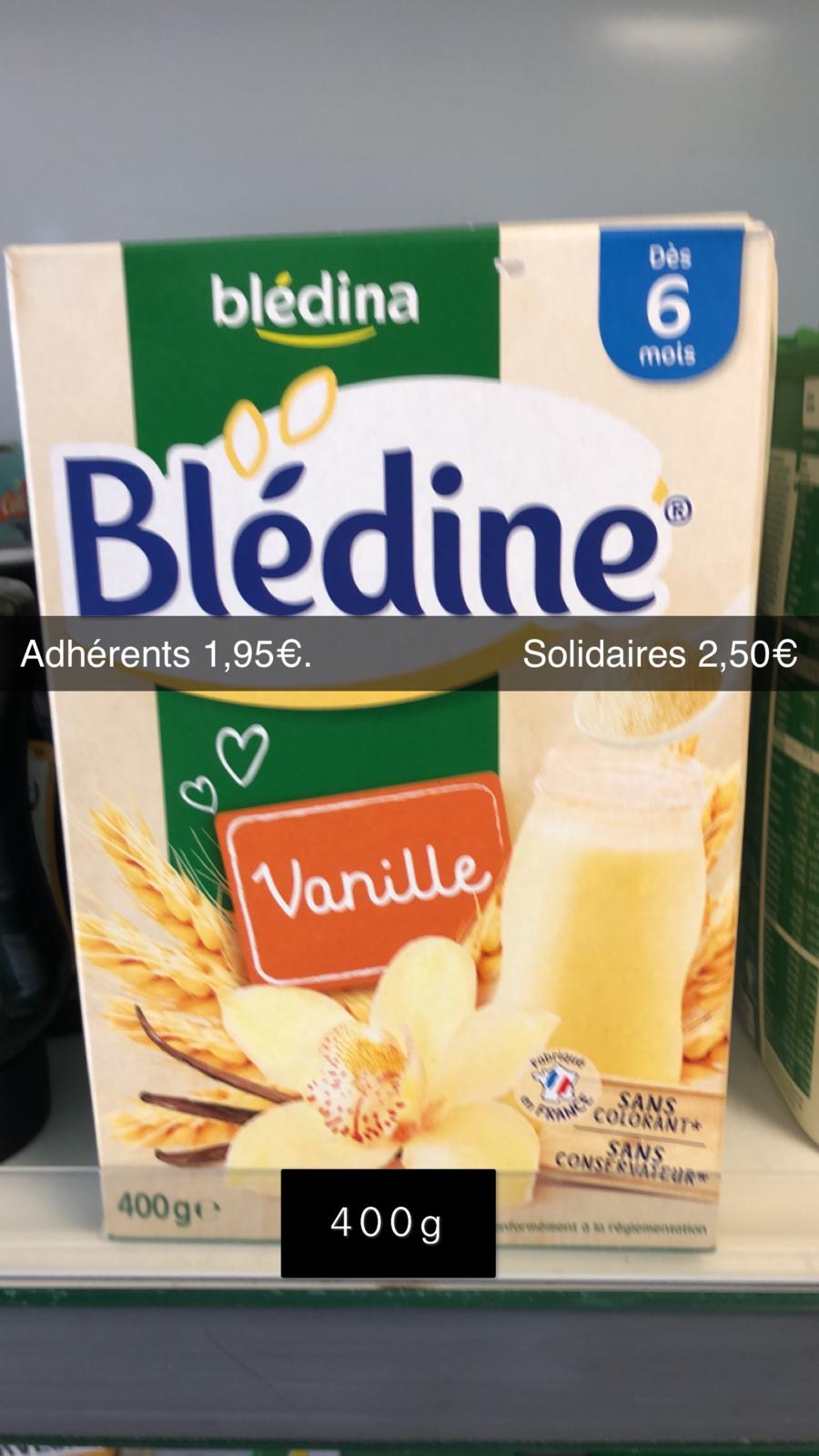 Blédine Vanille 400g (DLUO OK)