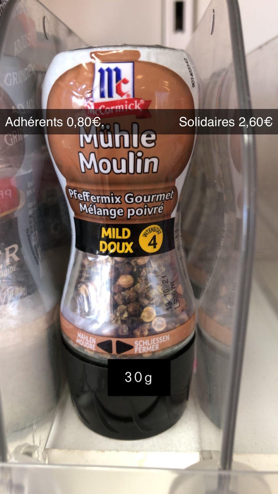 Moulin à poivre - 30g