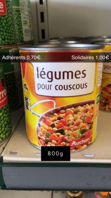 Légumes pour Couscous - 800g