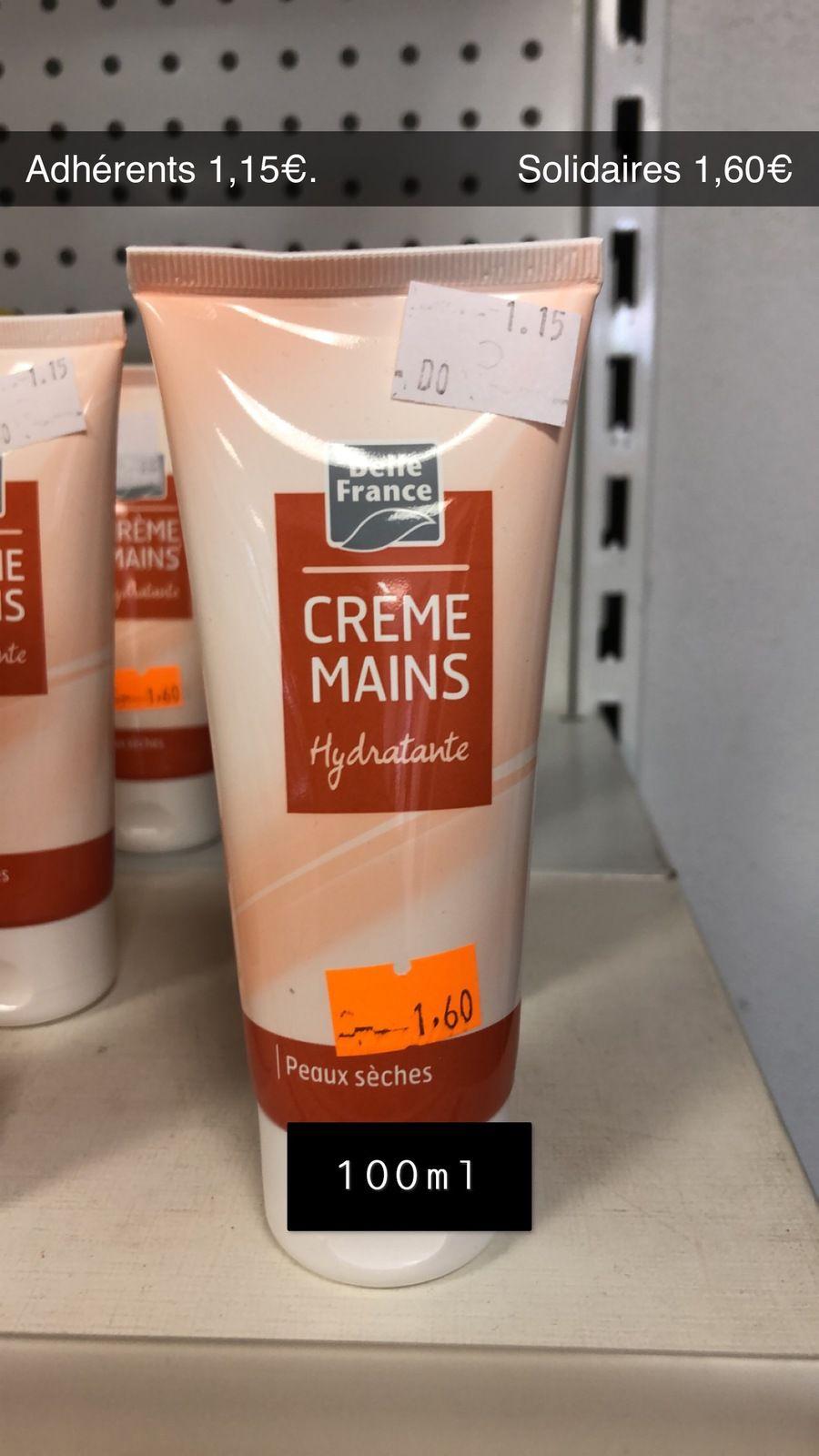 Crème pourles mains - 100ml