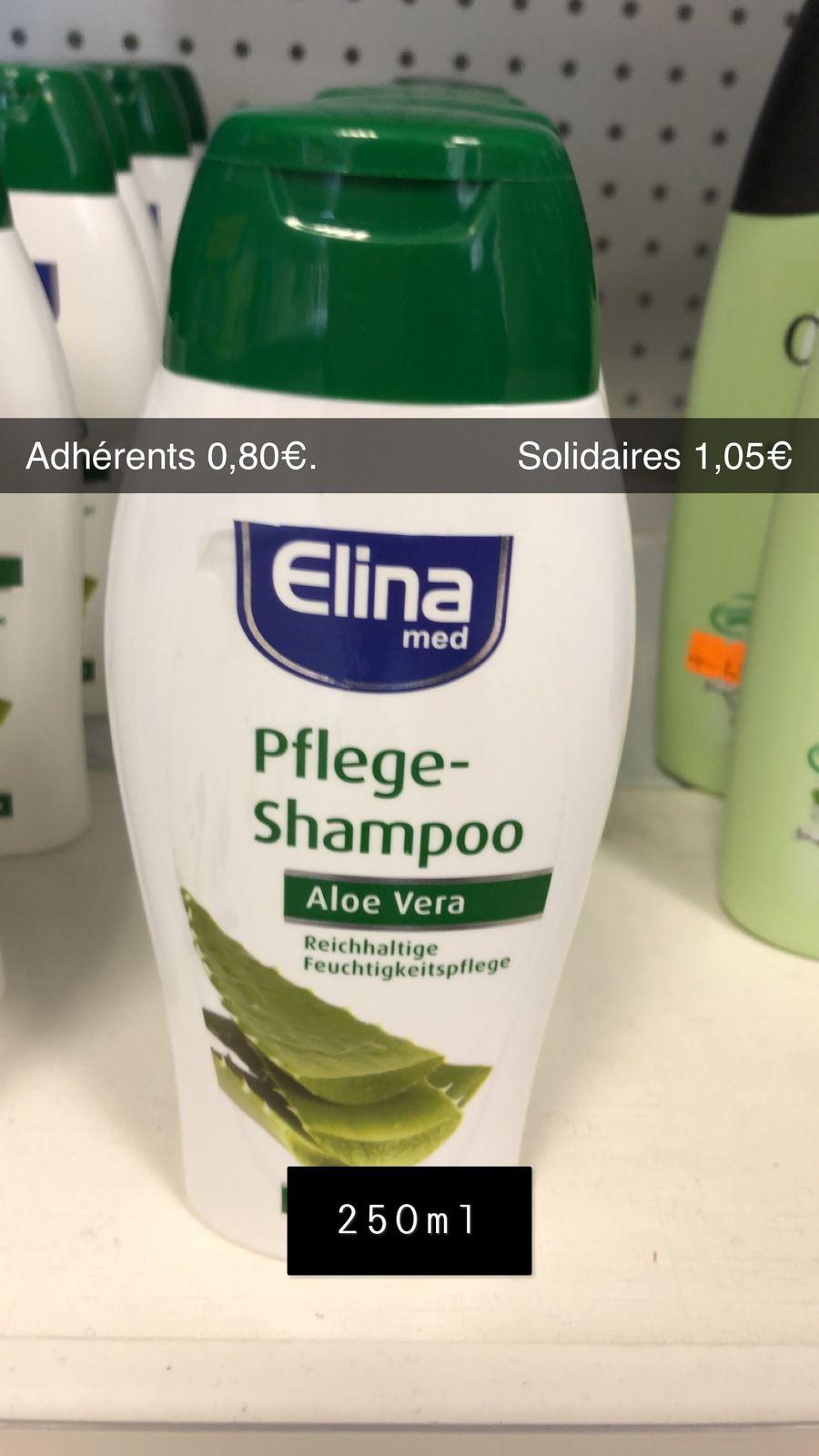 Shampoing Aloé Vera - 250ml