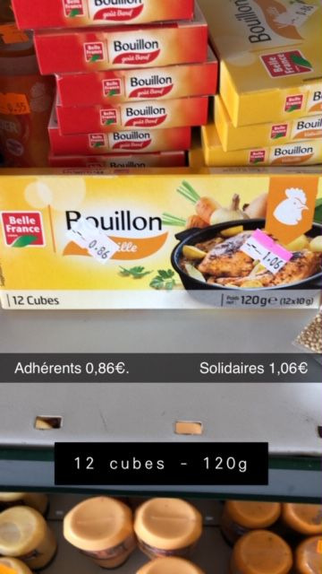 """12 cubes """"volaille"""" - 120g"""