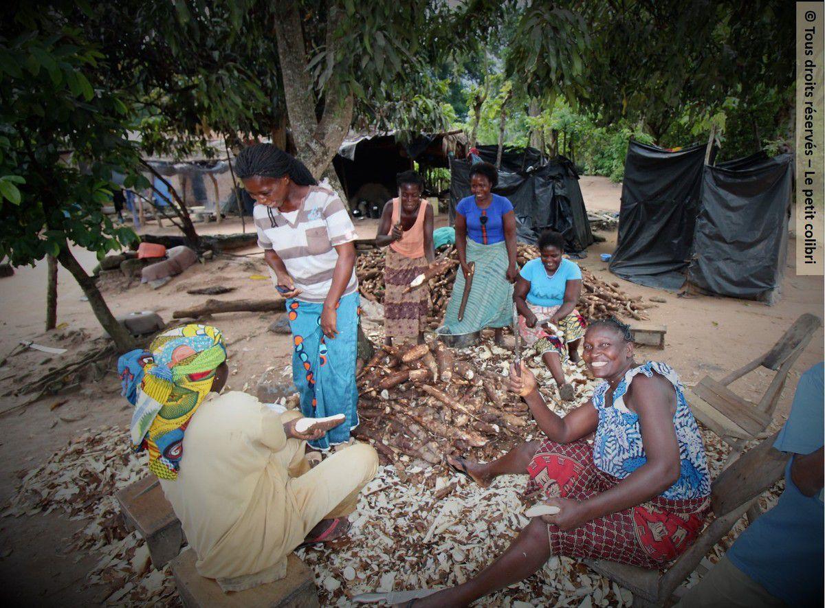 Les femmes de Djébonoua