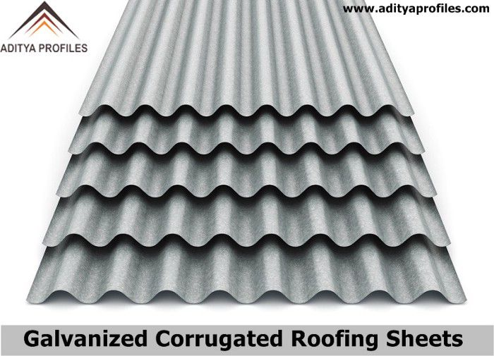 Features Of Screw Down Roofing System Trapezoidal Roofing Gi Roofing Sheets Aditya Profiles