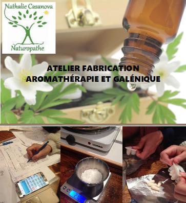Atelier aromathérapie galénique