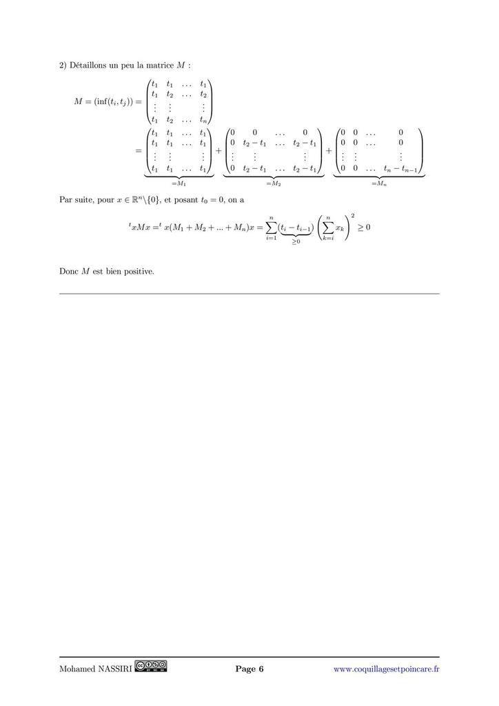 158 - Matrices symétriques réelles, matrices hermitiennes.