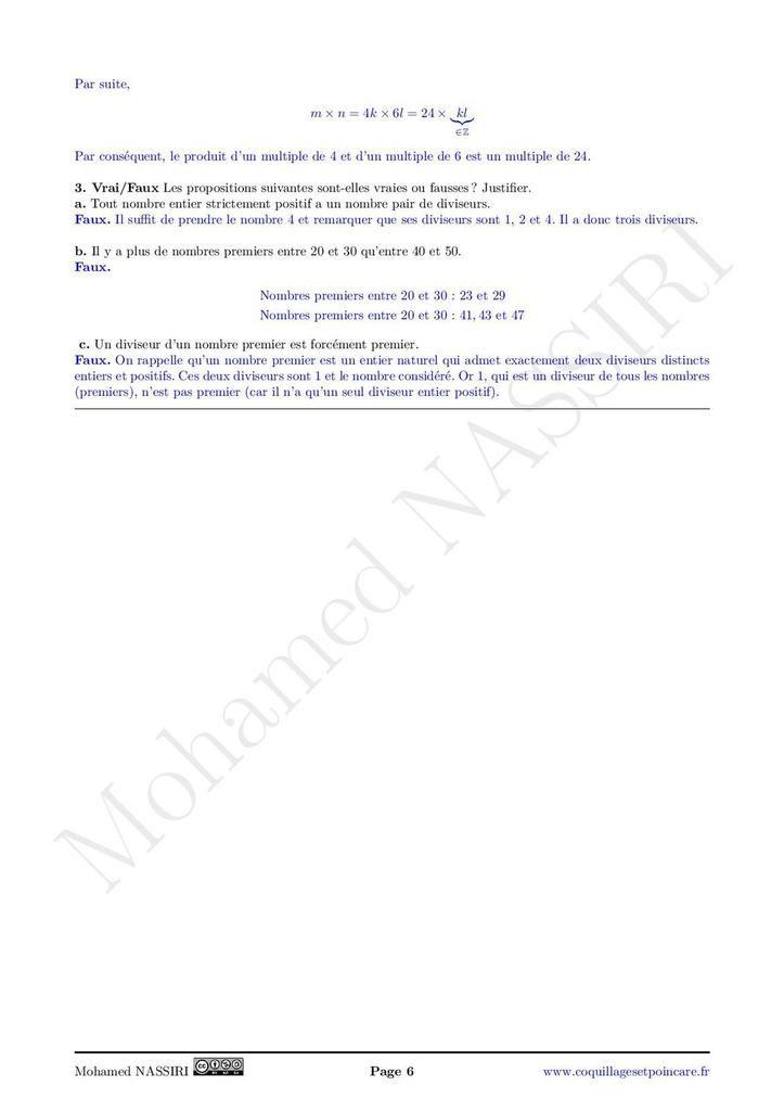 Corvée n°4- Correction Corvée n°4