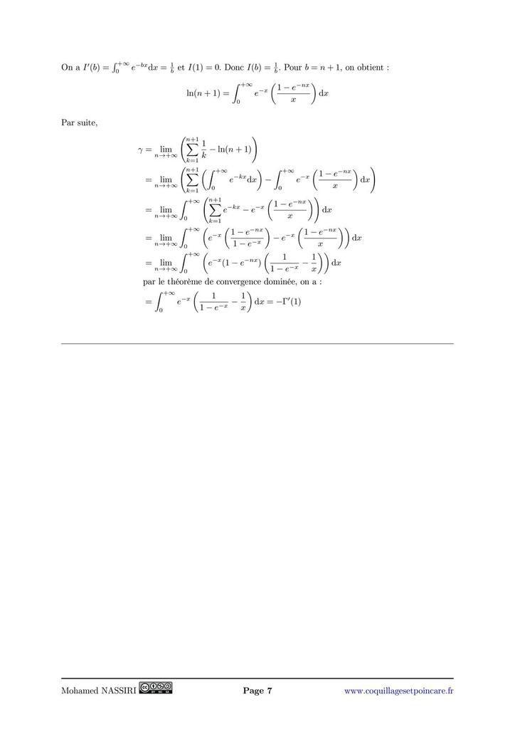 224 - Exemples de développements asymptotiques de suites et de fonctions.