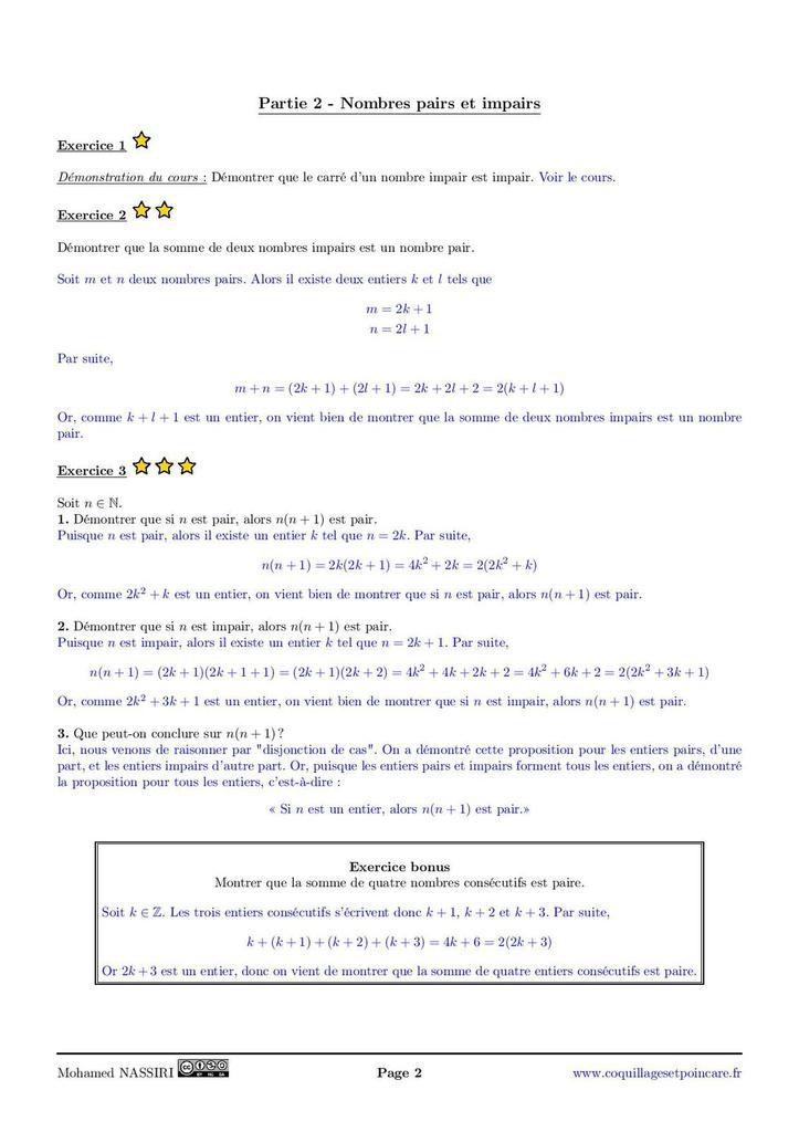 Calvaire n°3 - Correction Calvaire n°3