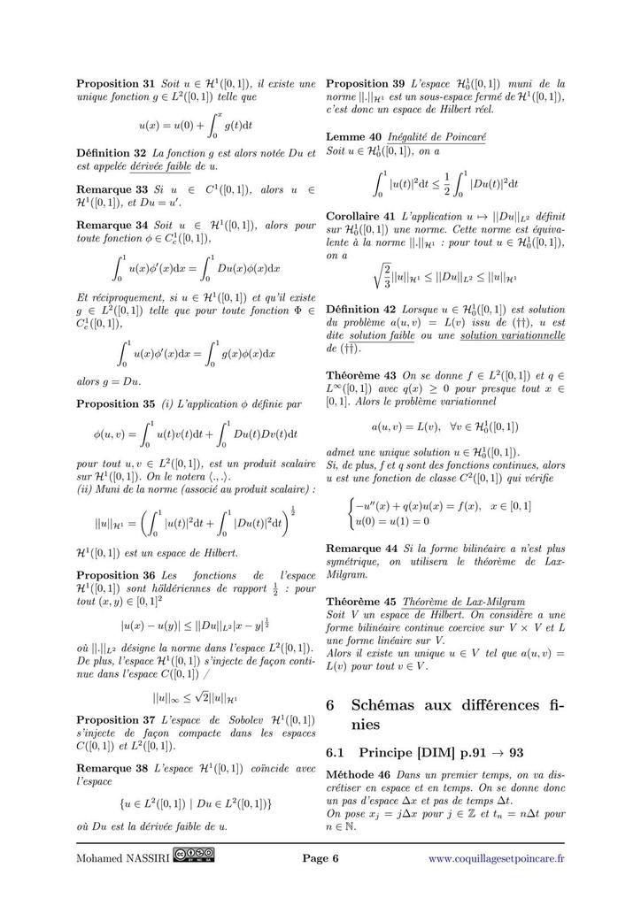 222 - Exemples d'équations aux dérivées partielles linéaires.